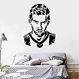 Fußballspieler Messi 10 Vinyl Wandkunst Aufkleber