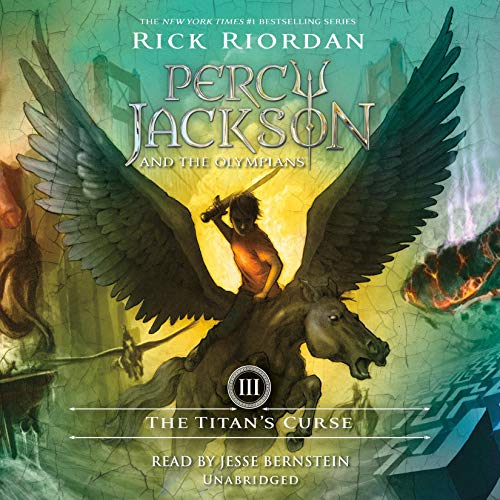 The Titan's Curse     Percy Jackson and the Olympians, Book 3              By:                                                                                                                                 Rick Riordan                               Narrated by:                                                                                                                                 Jesse Bernstein                      Length: 8 hrs and 48 mins     7,414 ratings     Overall 4.6