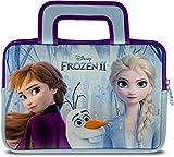 Pebble Gear Disney Frozen 2 Tragetasche - Universell einsetzbare Neopren Kinder Tasche mit Die Eiskönigin 2-Motiv, geeignet für 7
