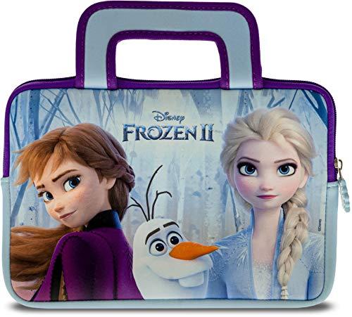 Pebble Gear Disney Frozen 2 Carry Bag - Borsa da Trasporto Universale per Bambini in Neoprene in Frozen 2-Design, per Tablet da 7  (Fire 7 Kids Edition, Fire HD 8), Cerniera Resistente, Woody e Buzz