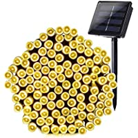 Grezea 72FT Solar Fairy String Outdoor Light with 200 LEDs