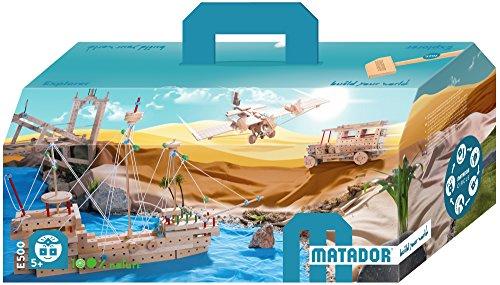 Matador Holzbaukasten Klassik 5 mit 717 Teilen