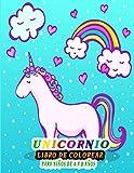 Unicornio Libro De Colorear Para Niños de 4 a 8 años: maravilloso libro Más de 30 adorables unicornios para colorear para niños