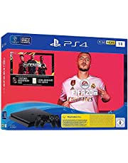 Sony PlayStation 4 1TB with 2 DualShock 4 Controllers with FIFA 20