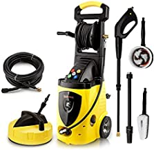 Wilks-USA RX550i High Power Pressure Washer 262 Bar / 3800 PSI Portable Electric Jet Washer for Patio Car Driveway & Garde...