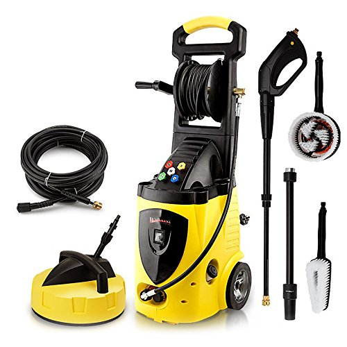 Wilks-USA RX550i High Power Pressure Washer 262 Bar / 3800 PSI Portable Electric Jet Washer for Patio Car Driveway & Garden with 5 Quick Connect Nozzles