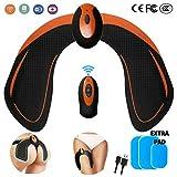 Elettrostimolatore Glutei, Cosce, Gambe - EMS Tonificatore Muscolare Uomo Donna - USB Ricaricabile - Glutei Allenatore