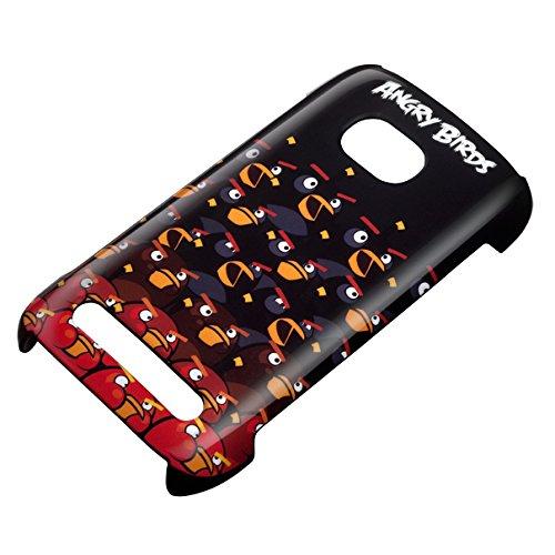 Nokia Angry Birds - Carcasa para Lumia 710, Negro