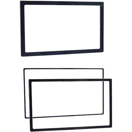 Metra Electronics - Trim Rings - Universal (89-50-0900) Metra Kits Trim Rings, BLACK