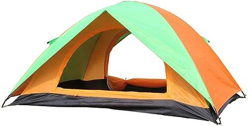 GFF La Tente de Camping Simple de Tente de Camping de 2 Personnes Doit être assemblée pour des Sports de Plein air
