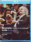 Moussorgski : Tableaux d'une Exposition-Borodine : Symphonie N° 2-Chostakovitch : Polka [Blu-Ray]