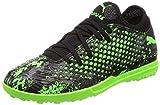 Puma - Future 19.4 TT Jr, Zapatillas de Fútbol Unisex Niños, Negro (Puma Black-Charcoal Gray-Green Gecko 03), 38 EU