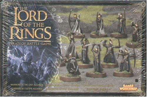 Games Workshop - 99121499002 - Seigneur des Anneaux - Figurine - Guerriers De La Derniere Alliance