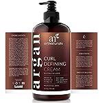 artnaturals Curl Defining Cream - Curls Moisturizer & Enhancer w/Almond, Jojoba & Argan Oil & Natural Frizz Control… 4