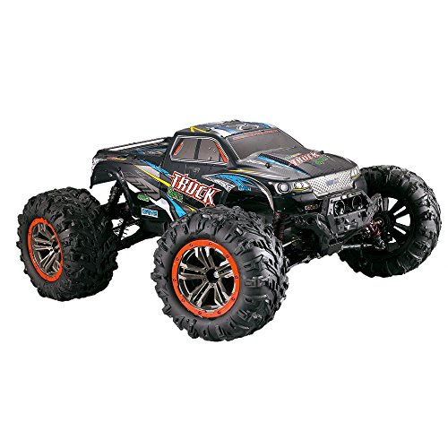 Coche RC, escala 1/10 de alta velocidad 46 km/h 2.4 GHz 4WD radio controlado Off-Road RC Car