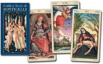 Golden Botticelli Tarot[TAROT DK-GOLDEN BOTTICELL-][Other]