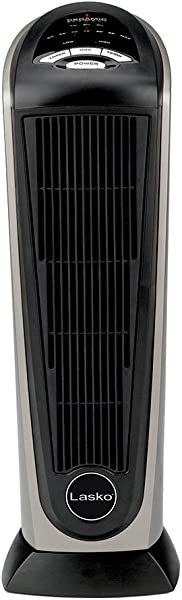 Lasko 751320 Ceramic Tower Space Heater With Remote Control Features Built In Timer And Oscillation