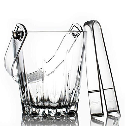 YWSZJ Glas Eiskübel Rotwein Bier Eiskübel Hausbar Eiswürfel Champagner Eimer