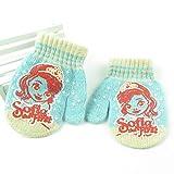 SUNHAO Kinderhandschuhe Cute Stripes Baby Wraps Kinderhandschuhe gestrickte warme Handschuhe Tasche
