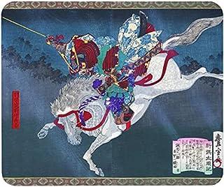 歌川豊宣『 新撰太閤記 秀吉 中国大返し 』のマウスパッド:フォトパッド( 浮世絵シリーズ )