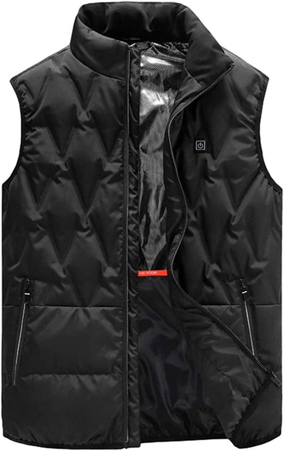 386090d54b2f1 Electric Heated Warm Usb Rechargeable Gilet For Men Women 3 Modes ...