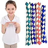 The Dreidel Company Classic Finger Traps, Chinese Bamboo Toys, Assorted Colors, 5' Inches (12-Pack)