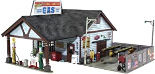 n scale gas station