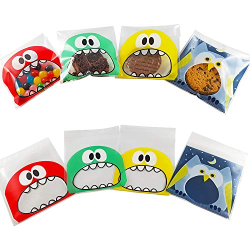 GARANTIE GROOT - Kolonel Cook- Snoepzak|Set van 200/Verjaardag Snoepzak voor kinderen-Snoepzak voor snoep/chocolade/suikers/Koekjes-snoepzak voor snack tijd