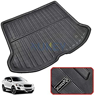 For XC60 2009 2010 2011 2012 2013 2014 2015 2016 2017 Tailored Boot Liner Cargo Tray Rear Trunk Liner Floor Mat Sheet Carp...