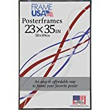 Frame USA 23x35 Corrugated Backing Poster Frame (Black) | Choose Size and Color