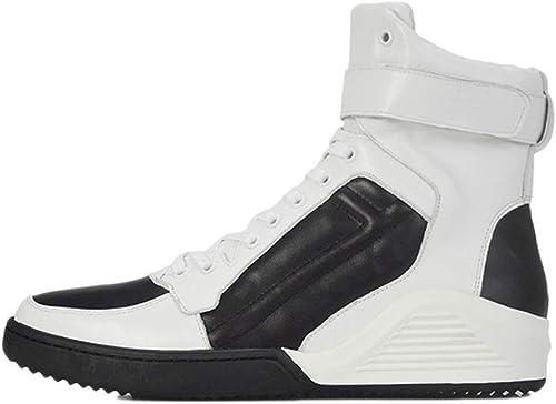Stiefel Martin para Hombre Stiefel para Adultos Stiefel Clásicas Cuero Clásico Ocio De Invierno Versátiles Stiefel Altas De Cuero para Hombre