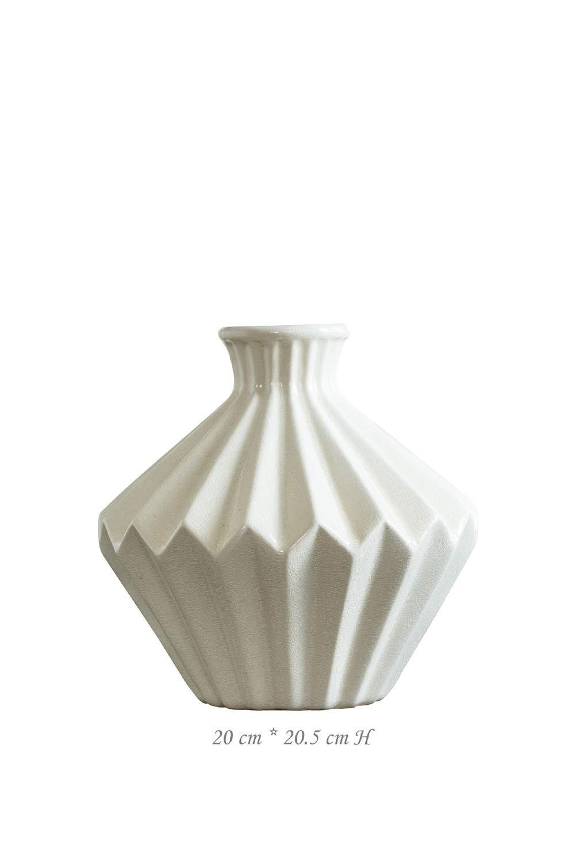 UOOOM Bois Vase /à Fleurs Artificielles Cr/éatif D/écoraton pour Salon Chambre Boutique Vitrine