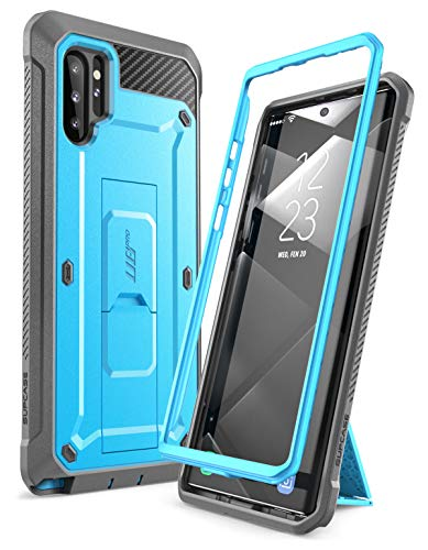 SUPCASE Unicorn Beetle Pro Series Case Designed for Samsung Galaxy Note 10 Plus/Note 10 Plus 5G, Full-Body Rugged Holster & Kickstand Without Built-in Screen Protector (Blue)