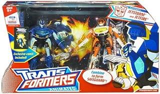 Hasbro Transformers Animated  Pack - Jetfire and Jetstorm