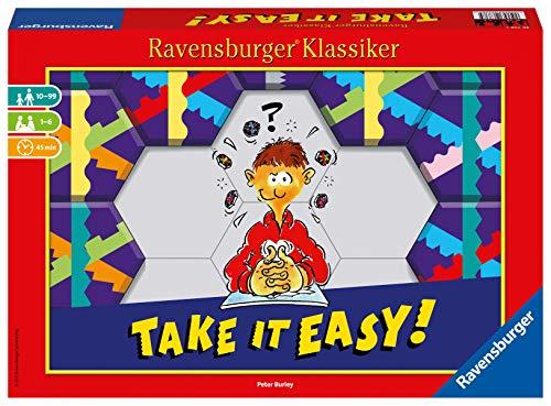 Ravensburger 26738 - Take it easy! - Legespiel für 2-4 Spieler, Strategiespiel ab 10 Jahren, Ravensburger Klassiker