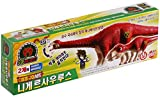 Dino Mecard Double Figure Set Nigersaurus and Tinysour Niger Red Color