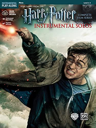 Harry Potter Instrumental Solos: Flute, Book & Online Audio/Software (Pop Instrumental Solo Series)