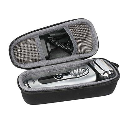 co2CREA Storage Travel Organizer Hard Case for Braun Series 5 7 9 790cc-4 7898cc 799cc 720s-4 9290cc 9090cc 9075cc 5040 5050cc 5030s Men's Electric Foil Shaver Razor Trimmer fits Charger Adapter