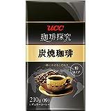 UCC 珈琲探究 炭焼珈琲 コーヒー豆 (粉) 210g