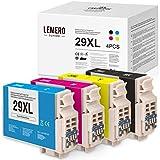 LEMERO SUPERX Tintenpatronen für Epson 29XL T2991-4 für Epson Expression Home XP-235 XP-240 XP-245 XP-247 XP-330 XP-332 XP-335 XP-340 XP-342 XP-345 XP-430 XP-432 XP-435 XP-440 XP-442 XP-445(B/C/M/Y)