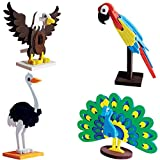 Worldwide Birds Educational Toy and 3D Puzzle for 5 Year Old Boys