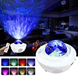Night Light for Kids, LBell 3 in 1 Star Projector w/LED Nebula Cloud for Bedroom/ Game Rooms/ Home Theatre/ Night Light...