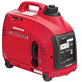 Honda EU1000i Inverter Generator, Super Quiet, Eco-Throttle, 1000 Watts/8.3 Amps @...
