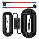 Pruveeo Hard Wire Kit for Dash Cam with 2 Fuse Tap Cable, Mini USB Port, 12V to 5V, DC 12V - 30V Car Charger Cable Kit