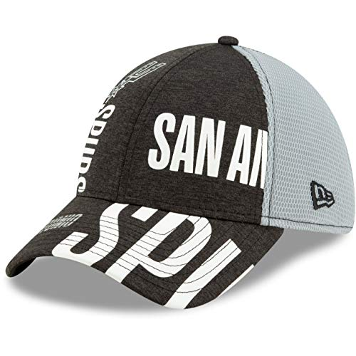 New Era 3930 NBA 2019 Tip Off Series Stretch Fit Cap (Medum/Large, San Antonio Spurs)