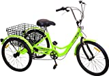 Komodo Cycling 24', 6-Speed Adult Tricycle #7002
