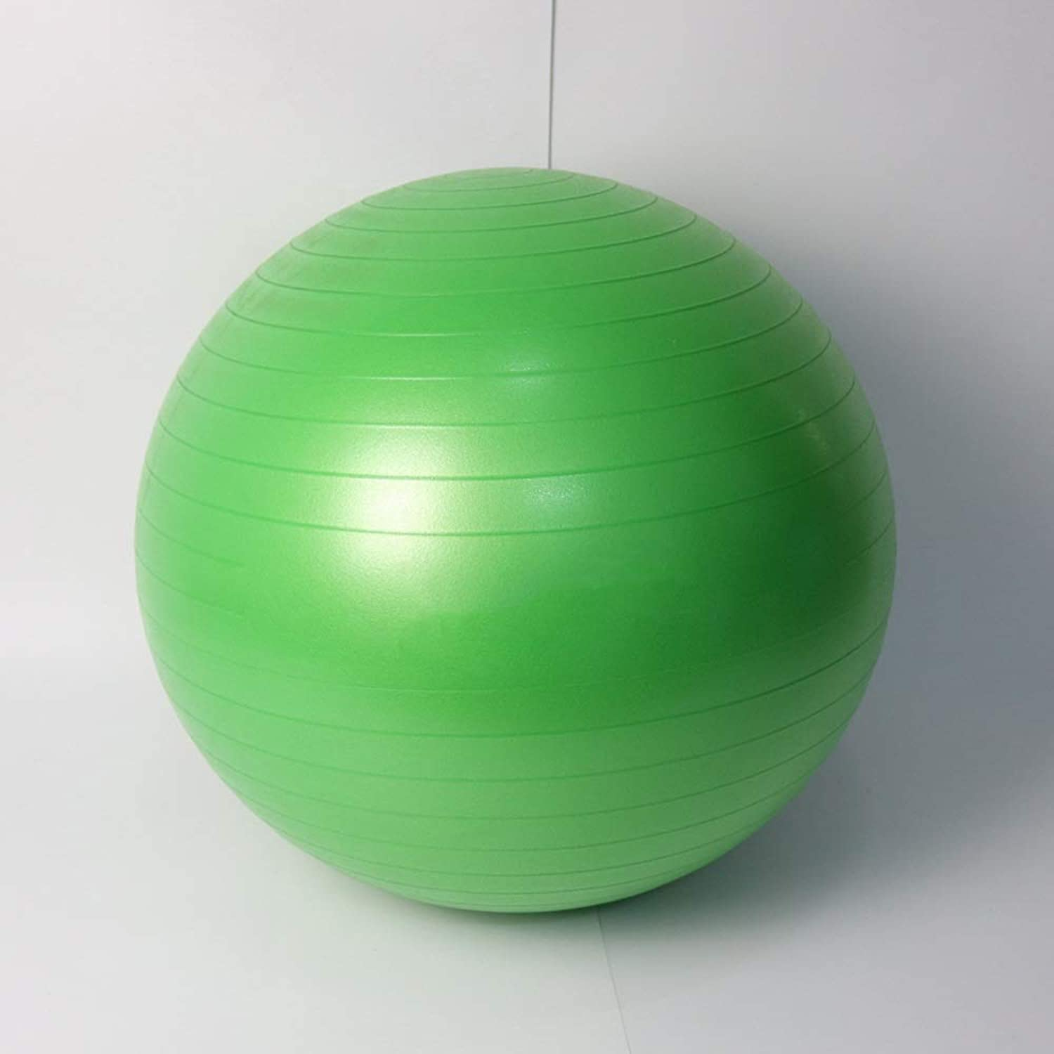 Fit Exercise Ball for Fitness Stability Balance Yoga  Workout Guide Quick Pump Included  Anti Burst Professional Quality Design Medium Exercise Ball blueee Green Pink Purple Red Brown
