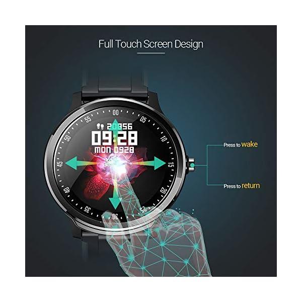 NACATIN SmartWatch, Reloj Inteligente Impermeable IP68, Bluetooth Relojes Deportivos Pantalla t¨¢ctil Completa, Pulsera… 6