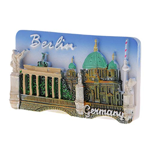 Kühlschrankmagnet Welt Tourismus Souvenirs Sehenswürdigkeiten Home Dekoration um alle Arten von kleinen Erinnerungen zu halten - Berlin