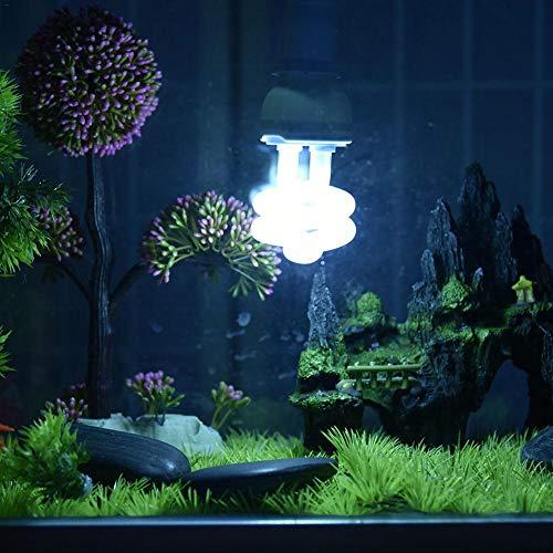 Makluce schildpad warmelampje Uv, 13 W lamp schildpad terrarium, warmtespotlamp terrarium voor aquarium reptiel standaard